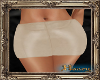 PHV Leather Skirt Cream
