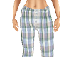 TF* Plaid pajama Pants B