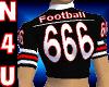Football #666 (Black)