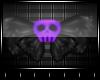 ⚜Purple Skull Bow⚜