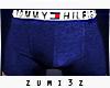 ZM| Tommy Boxers Blue
