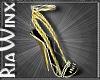Tango Gold Heels