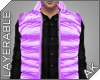 ~AK~ Ski Vest: Purple