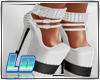 Roxy Heels\white