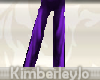Purple Silk Pajama Pants