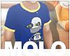m/ Kids Blue Robot T