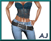 (A) Sassy Pants&Corset