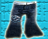 *CA* Blue Skull Jeans
