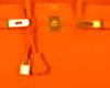 Orange Leather.