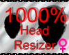 *M* Head Resizer 1000%