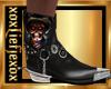 [L] USA Skulls Boots M