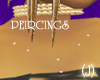 (J)CHEST SILVER PEIRCING