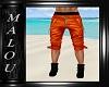 Dilan Orange Shorts
