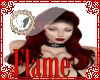 flame red low hair