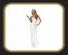 Caz white gown
