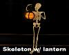 H/Skeleton w/ Lantern