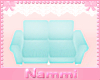 Kids scaled couch blue