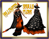 Halloween Skulls Cloak