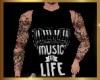 MUSIC LIFE BLACK TOP