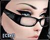 |C| Glasses Zebra Grey