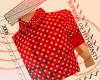 Polkadot Shirt in Red