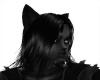 (CF) Black Wolf Ears