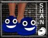 Blue Poo Shoe