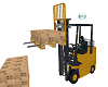 ANIMATED FORKLIFT