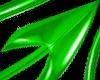 Devil Tail Green PVC M