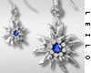 ! L! Paula Earrings Blue