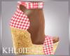 K country cow girl heels