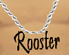Rooster silver Chain