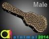 Leopard Guitar Case M