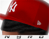 NY Fitted | Red