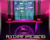 -R- FF Aquatic Fireplace