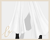 𝒷/ Flowy Pants White