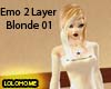 Emo 2 Layer Blonde 01