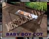 MATERNITY:baby boy cot