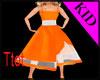 Pumpkin Princess Gown