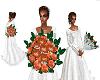 Weddingboquet Peach
