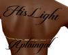 His Light Back Tat/F