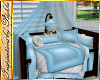 I~Baby Boy Canopy Bed