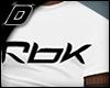 D►T-shirt +Ta RBK W
