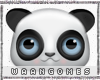 WG | Panda Face Sticker