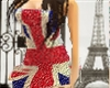 Birtish Glitter Dress