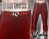 W° Heartness e Pants
