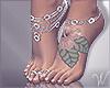 Talia Feet & Jewelry Tat