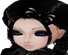 Child Gothic Black Bow