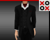 Suit with Red Ascot