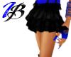[IB] Rave Skirt Blk/Blu